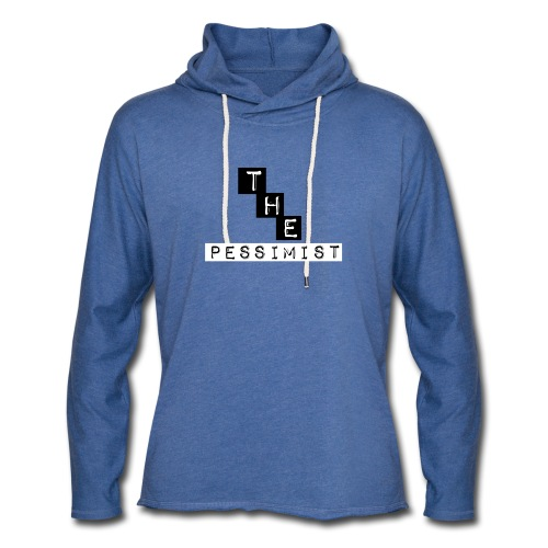 The pessimist Abstract Design - Unisex Lightweight Terry Hoodie