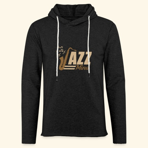 02 JAZZ MIND - Unisex Lightweight Terry Hoodie