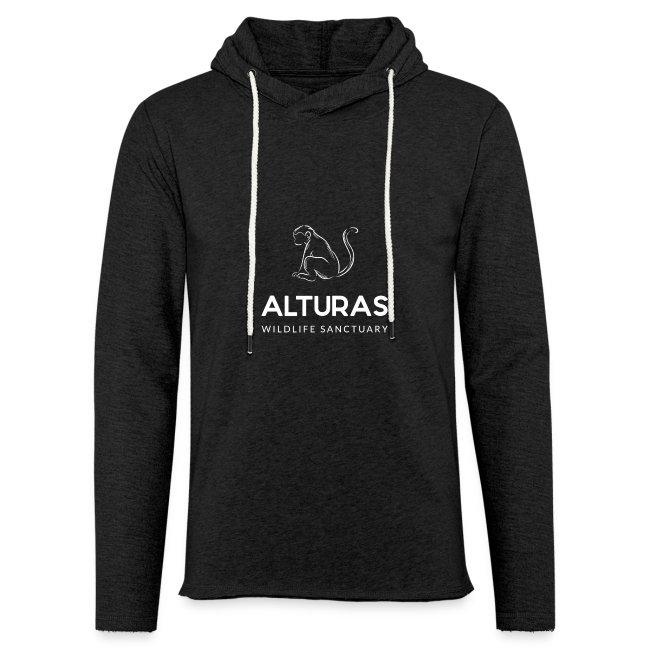 Alturas Wildlife Sanctuary Logo with Monkey