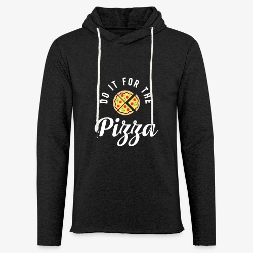 Do It For The Pizza - Unisex Lightweight Terry Hoodie