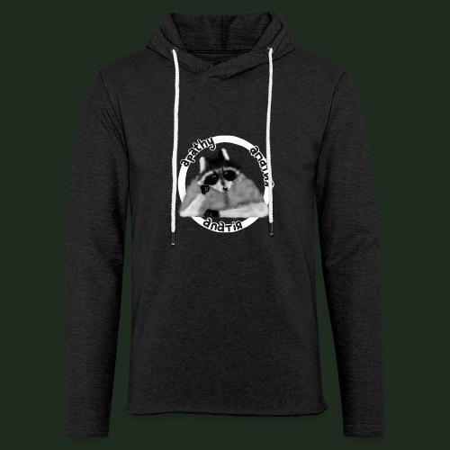 Apathy Raccoon - Unisex Lightweight Terry Hoodie