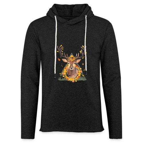 The Spirit of the Forest - Unisex Lightweight Terry Hoodie