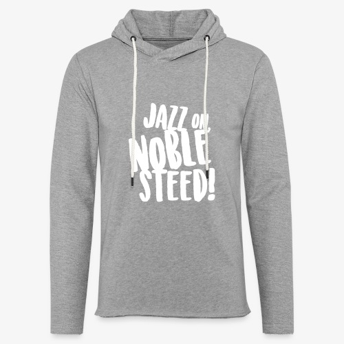 MSS Jazz on Noble Steed - Unisex Lightweight Terry Hoodie