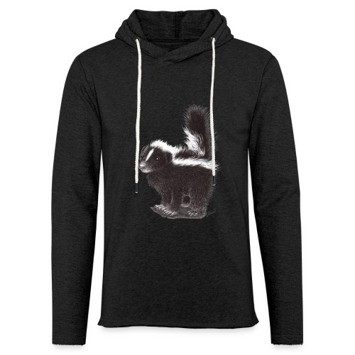 Cool cute funny Skunk - Unisex Lightweight Terry Hoodie