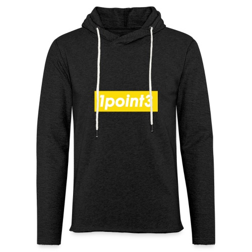 1point3 yellow - Unisex Lightweight Terry Hoodie