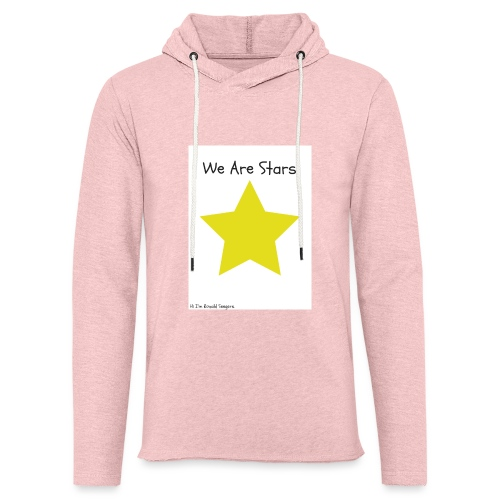 Hi I'm Ronald Seegers Collection-We Are Stars - Unisex Lightweight Terry Hoodie