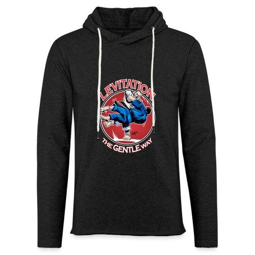 Judo Shirt - Levitation for dark shirt - Unisex Lightweight Terry Hoodie