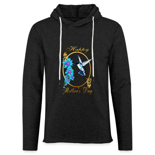 Mother's Day with humming birds - Unisex Lightweight Terry Hoodie