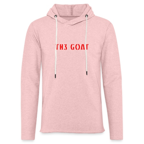 GREEK GOAT - Unisex Lightweight Terry Hoodie