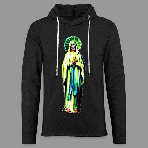 Cult Of Santa Muerte - Unisex Lightweight Terry Hoodie