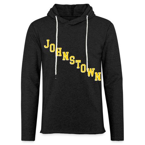Johnstown Diagonal - Unisex Lightweight Terry Hoodie