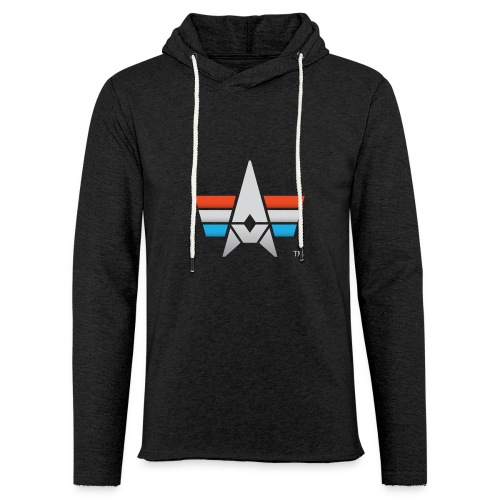 BHK Icon full color stylized TM - Unisex Lightweight Terry Hoodie