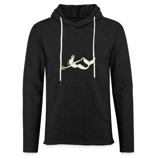 Pearl Diver Mermaid - Unisex Lightweight Terry Hoodie