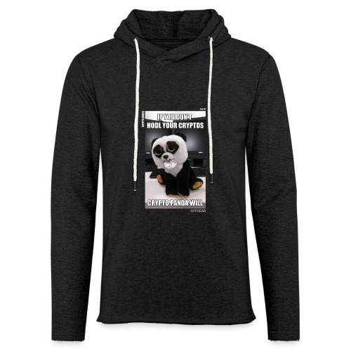 If Don't HODL Your Cryptos... - Unisex Lightweight Terry Hoodie