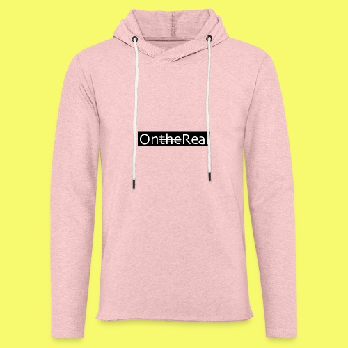 OntheReal coal - Unisex Lightweight Terry Hoodie