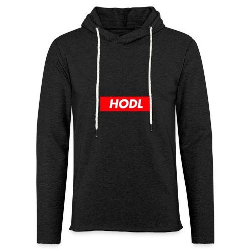Hodl BoxLogo - Unisex Lightweight Terry Hoodie