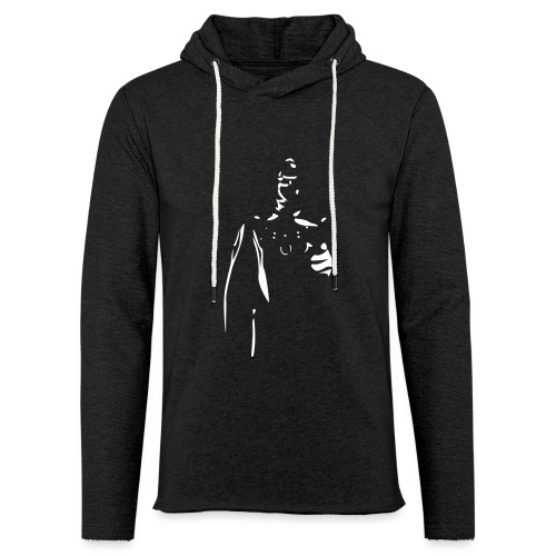 Rubber Man Wants You! - Unisex Lightweight Terry Hoodie