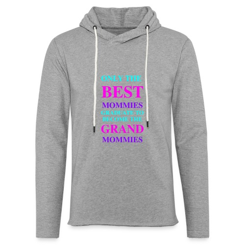 Best Seller for Mothers Day - Unisex Lightweight Terry Hoodie