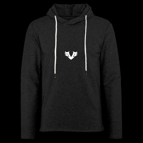 white Villain 2D - Unisex Lightweight Terry Hoodie