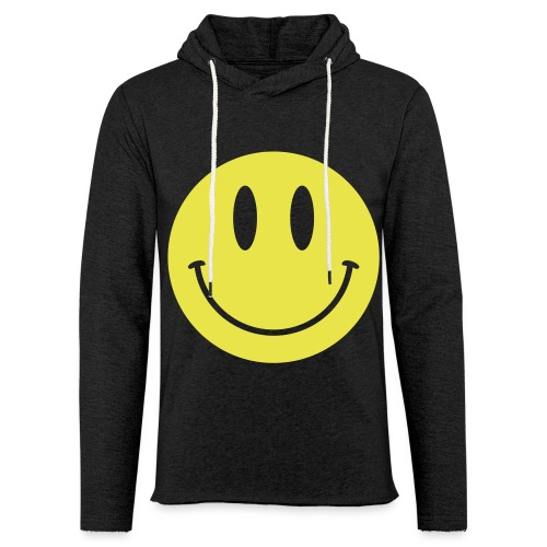 Smiley - Unisex Lightweight Terry Hoodie