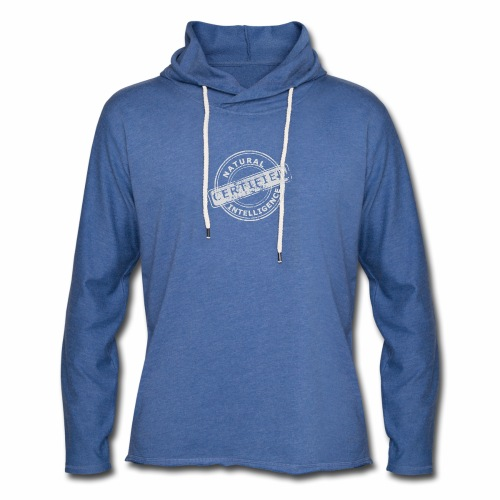Natural Intelligence inside - Unisex Lightweight Terry Hoodie