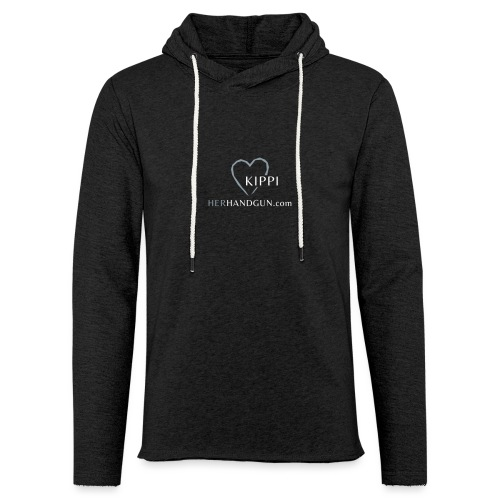 HerHandgun Logo for Kippi ONLY! - Unisex Lightweight Terry Hoodie