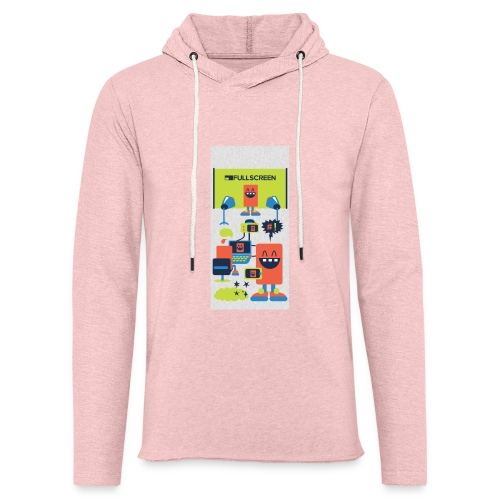 iphone5screenbots - Unisex Lightweight Terry Hoodie