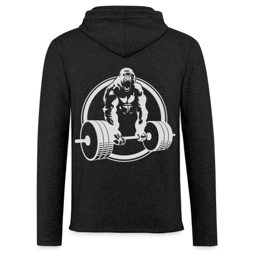 Gorilla Lifting Gym Fit - Unisex Lightweight Terry Hoodie