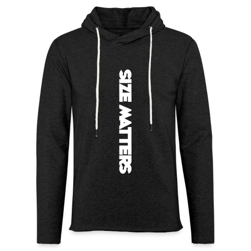SIZEMATTERSVERTICAL - Unisex Lightweight Terry Hoodie