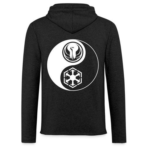 Star Wars SWTOR Yin Yang 1-Color Light - Unisex Lightweight Terry Hoodie