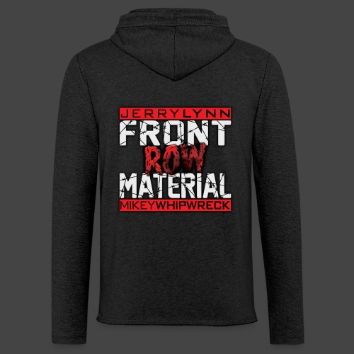 Front Row Material Logo - Unisex Lightweight Terry Hoodie