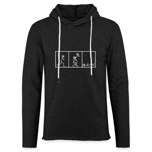 BUTTFUMBLE 6 (With Cartoon) - Unisex Lightweight Terry Hoodie