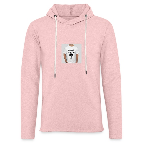 love myself - Unisex Lightweight Terry Hoodie