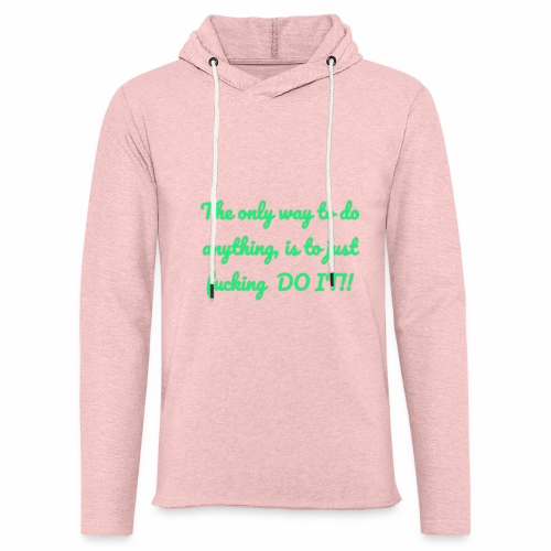 Therhappy/inspiration - Unisex Lightweight Terry Hoodie