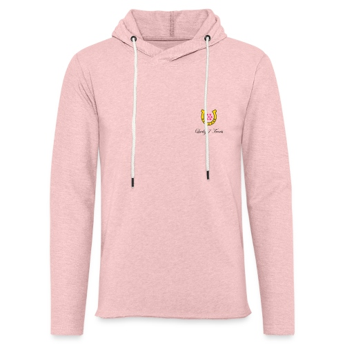 Lucky 7 Logo With Words - Unisex Lightweight Terry Hoodie