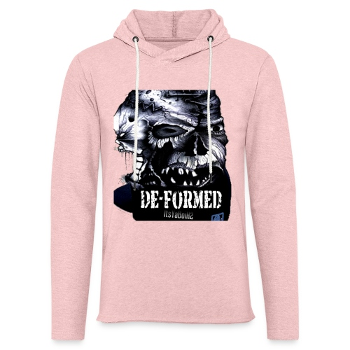De-Formed Cover Art - Unisex Lightweight Terry Hoodie