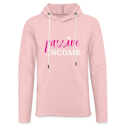 Passive Income - Unisex Lightweight Terry Hoodie