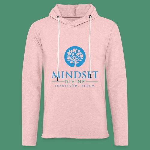 Mindset Divine logo 01 - Unisex Lightweight Terry Hoodie
