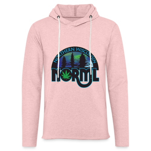 Northern Wisconsin NORML Official Logo - Unisex Lightweight Terry Hoodie