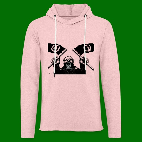 anarchy and peace - Unisex Lightweight Terry Hoodie
