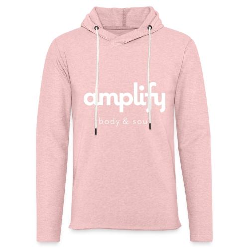 amplify logo - Unisex Lightweight Terry Hoodie