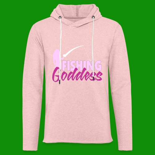 FISHING GODDESS - Unisex Lightweight Terry Hoodie