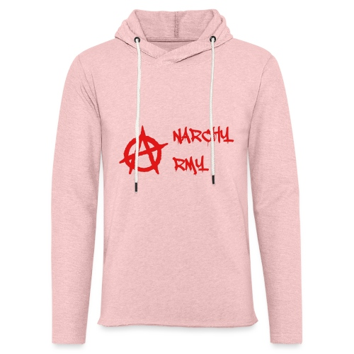 Anarchy Army LOGO - Unisex Lightweight Terry Hoodie