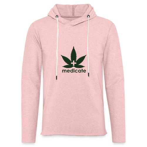 Medicate Supporter - Unisex Lightweight Terry Hoodie