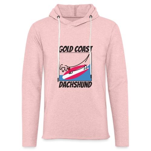 Gold Coast Dachshund - Unisex Lightweight Terry Hoodie