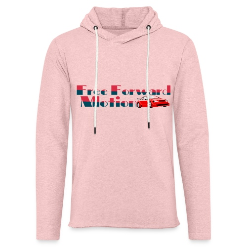 Free Forward Motion - Unisex Lightweight Terry Hoodie
