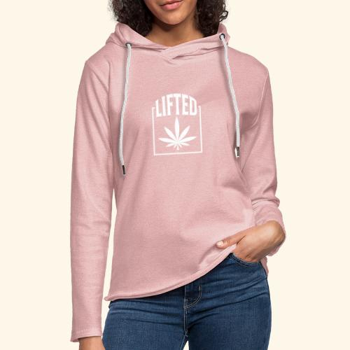 LIFTED T-SHIRT FOR MEN AND WOMEN - CANNABISLEAF - Unisex Lightweight Terry Hoodie