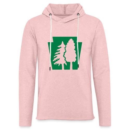 PA Keystone w/trees - Unisex Lightweight Terry Hoodie
