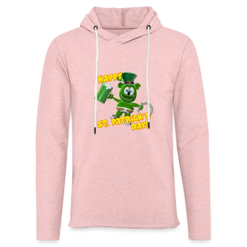 Gummibär (The Gummy Bear) Saint Patrick's Day - Unisex Lightweight Terry Hoodie