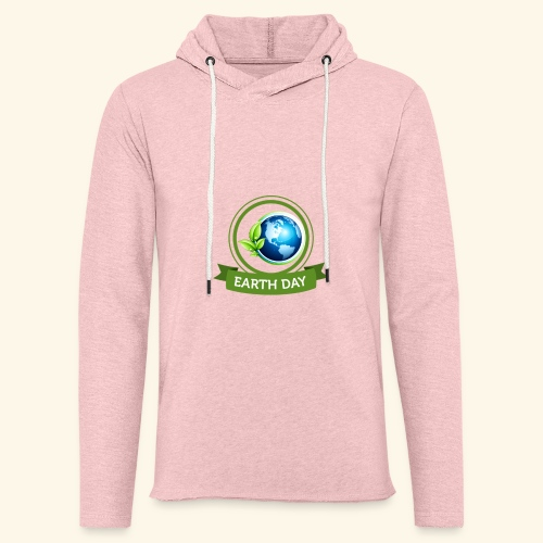 Happy Earth day - 3 - Unisex Lightweight Terry Hoodie